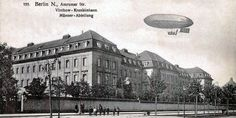 Berlin 1909 Maennerfluegel des Virchow-Krankenhauses