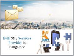 Bulk SMS Services Provider in Bangalore