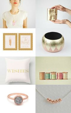 Golden Spring by Rosanna MouMee on Etsy--Pinned with TreasuryPin.com