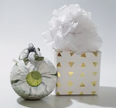 Iris decopage christmas ball tree decor xmas decor ball in gift box gift for her mother friend white christmas decor home decor by biborvarazs on Etsy Christmas Deer, Christmas Balls, Handmade Christmas, White Christmas, Christmas Ornaments, Napkin Decoupage, Paper Gift Box, Tealight Candle Holders, Ball Ornaments