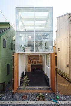 archatlas: House in Kawasaki TAICHI MITSUYA &... | THE KHOOLL