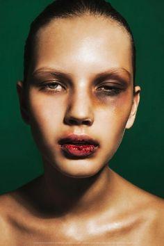 Kate Mur Photo Igor Klepnev — with Igor Klepnev   film and TV makeup