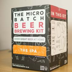 Pin for Later: 22 Gifts For the Guy You Thought Was Impossible to Buy For For the Beer-Lover Home Brew Depot Micro Batch Brewing Kit (£35)