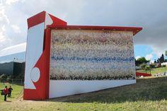Landscape Rock - Tile panel for Vodafone Redcycle at Rock in Rio Lisboa - PEDRITA STUDIO