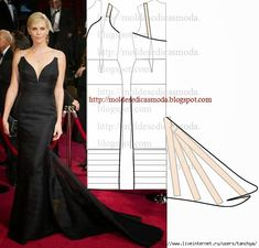 I love this site but it's all in Italian. Evening Dress Patterns, Wedding Dress Patterns, Dress Sewing Patterns, Clothing Patterns, Evening Dresses, Wedding Dresses, Fashion Sewing, Diy Fashion, Fashion Details