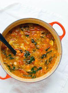 Vegetable quinoa soup - cookieandkate.com