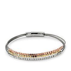 Nugget Multi Wire Bracelet