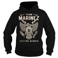 Awesome Tee Team MARINEZ Lifetime Member - Last Name, Surname T-Shirt T shirts