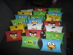 My baby rocks!: Festa Angry Birds: lembrancinhas