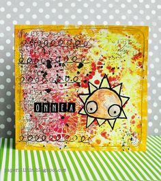 Onnea by Riikka Kovasin for Craft Stamper challenge