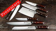 Prezentare cuţite primite de la Maranc - ep 2 Kitchen Knives