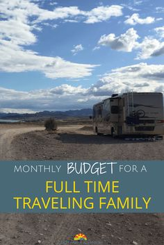 RV Living - The budget for a month of full time traveling family with 6 people and 2 dogs who live in an RV and travel around the US.  via @Crazy Family Adventure