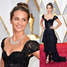 "2,650 Me gusta, 16 comentarios - Just Jared (@justjared) en Instagram: ""#AliciaVikander in #LouisVuitton #Oscars #Oscars2017 #LinkInBio"""