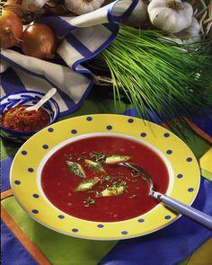 Unser beliebtes Rezept für Tomatensuppe mit Eierstich und mehr als 55.000 weitere kostenlose Rezepte auf LECKER.de.