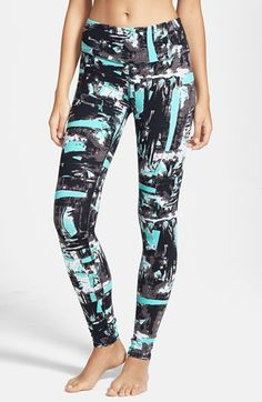 wholesale dealer 91090 7f99b Alo Airbrushed Glossy Leggings   Nordstrom