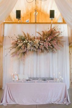 Wedding Decor Inspiration with Chic Neutrals, Pinks and Pampas Grass - Perfete Brides Room, Wedding Aisle Decorations, Pampas Grass, Photography And Videography, Wedding Colors, Wedding Photos, Wedding Ideas, Pink Weddings, Parties