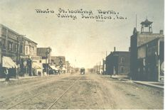5th St facing N in Valley Junction (West Des Moines), Iowa