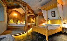 The rooms & suites at the Dolomiten Wellness Residenz Mirabell are spacious and elegantly furnished