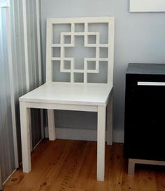 Squared2 Chair Plans.. Would love to desk hutch in kitchen. Maybe in a light blue like the Lilly one...