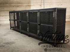 The VI Locker by Vintage Industrial Furniture can be made in various sizes and configurations!