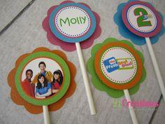 Fresh Beat Band Cupcake Toppers - set 12