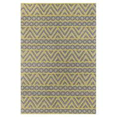Anchor your living room seating group or define space in the den with this artfully hand-tufted wool rug, featuring a chevron-inspired motif for eye-catching...