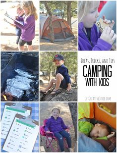 Camping With Kids: Tips, Tricks, and Ideas for Success