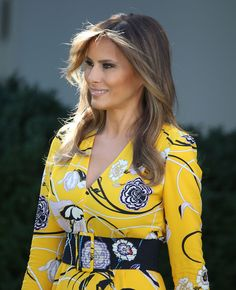 Melania Trump Photos Photos  President Trump And Indian PM Modi Hold Joint  Statement At White House 0cf888fee86