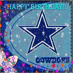 Dallas Cowboys Happy Birthday, Cowboy Birthday, Man Birthday, Birthday Quotes, Dallas Cowboys Memes, Dallas Cowboys Pictures, Cowboys Football, Football Team, Cowboy Images