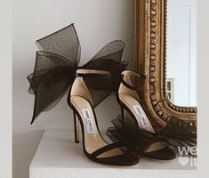 Jimmy Choo, Jimmy Jimmy, Cute Shoes, Me Too Shoes, High Heels, Shoes Heels, Bow Sandals, Girls Heels, Fashion Heels