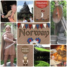Disney Project Life - A Day in Norway - Kelly Bell Designs