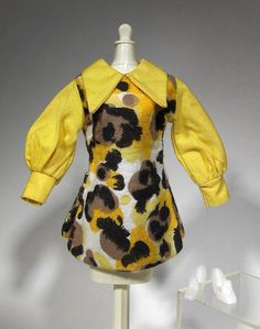 Mod Print Dress Twist 'N Turn TNT Barbie Doll Clone Outfit Hong Kong | eBay
