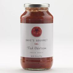 Dave's Gourmet Heirloom Pasta Sauce   World Market