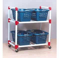 PVC Carry All Cart | Discover Storage Options Here