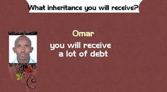 What inheritance you will receive?