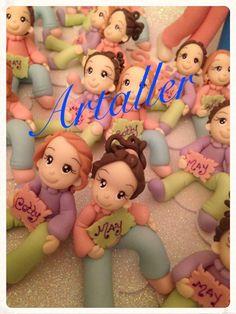 Lembrança aniversário, festa infantil, decoração, Candy Bar, porcelana fria, meninas.