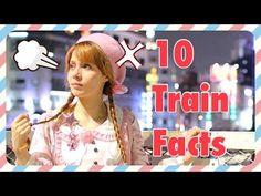 日本の電車10の豆知識! カティーのVLOG
