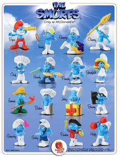 All The Smurfs Names And Pics People No One Is Better Than The