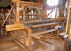 Webstuhl, Flachwebstuhl Webbreite 1,7m in in Gladenbach | eBay