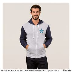 JACKET WITH HOOD BLEATEDCANVAS DESIGN ZURICH STAR - Stylish Comfortable And Warm Hooded Sweatshirts By Talented Fashion & Graphic Designers - #sweatshirts #hoodies #mensfashion #apparel #shopping #bargain #sale #outfit #stylish #cool #graphicdesign #trendy #fashion #design #fashiondesign #designer #fashiondesigner #style