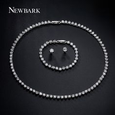 Find More Jewelry Sets Information about NEWBARK Luxury Jewelry Sets For Women…