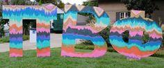 Pretty Pi Phi letters #piphi #pibetaphi