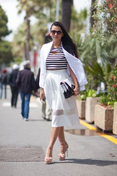Cannes Film Festival street style