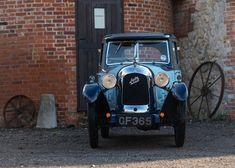 1930 Austin Seven Swallow For Sale by Auction (picture 1 of 6 Vintage Cars, Antique Cars, Austin Seven, Swallow, Old Cars, Motors, Madness, Auction, Hat