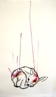 "Saatchi Online Artist: Hannah Ward; Pen and Ink, Drawing ""Absolute"""