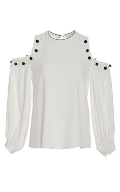 Erica Cold Shoulder Embellished Top by ALEXIS for Preorder on Moda Operandi