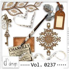 Vol. 0237 - Vintage Mix  by Doudou's Design  #CUdigitals cudigitals.comcu commercialdigitalscrapscrapbookgraphics #digiscrap
