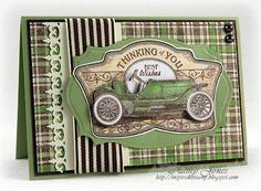 Inspired to Stamp: Going a Little Vintage