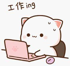 Cute Cats, Hello Kitty, Milk, Kawaii, Fictional Characters, Animals, Stickers, Jelly Beans, Gatos
