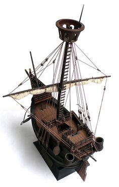 The Great Canadian Model Builders Web Page!: Catalan Merchant Ship